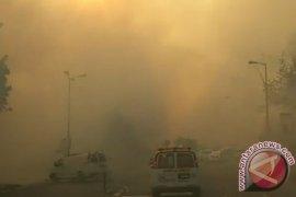 Israel minta pesawat Yunani, Kroasia bantu padamkan api