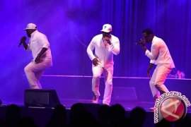 Boyz II Men Tampil Perdana Diiringi Live Band di Jakarta