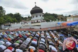 Masjid Roboh Pasca Gempa
