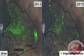 Perang saudara di Suriah hilangkan air di bendungan