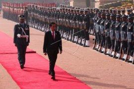 Presiden Jokowi Torehkan Pesan Di Gandhi Memorial Park India