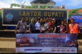 Semen Indonesia Group Salurkan Bantuan Untuk Korban Gempa Aceh