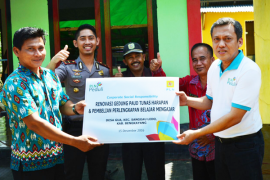 PLN UIP Kalbar Bantu Pembangunan PAUD Bengkayang