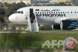 Pambajak pesawat Libya minta suaka di Malta