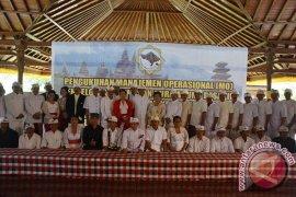 Wagub Bali Kukuhkan Manajemen Operasional Pura Besakih
