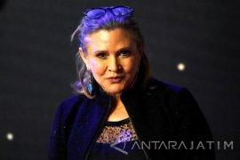 """Princess Leia """"Star Wars"""" Tutup Usia"""