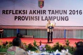 Refleksi Akhir Tahun 2016 Pemerintah Provinsi Lampung