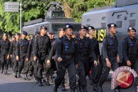 200 Brimob Aceh BKO ke Polda Metro