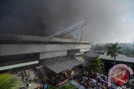 500 Kios Hangus Terbakar Di Pasar Senen