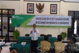 BPJS Ketenagakaerjaan Rungkut Ajak Kecamatan Sosialisasikan Program (Video)