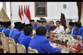 Presiden Menerima Pengurus PMII