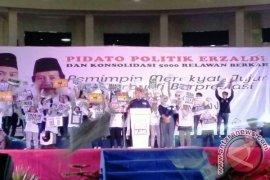 Erzaldi Unggul di TPS Hidayat Arsani