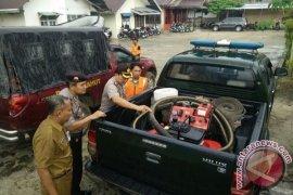 Polres Tanjungjabung Barat pantau titik-titik rawan banjir