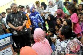 764 Korban Banjir Bekasi Diserang Penyakit