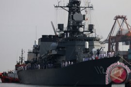 Kedatangan Kapal Perang Jepang