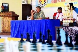 Bupati Sintang Buka Kejuaraan Catur Tingkat Kabupaten
