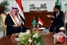 Raja Salman akan tanam pohon kayu ulin di Istana Kepresidenan