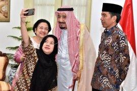 Wefie dengan Raja Salman