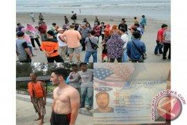 Wisatawan Amerika Tewas Tenggelam Di Pantai Panjang