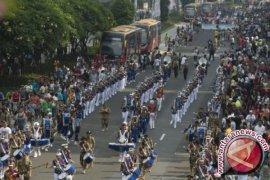 Kadisdik Pangkalpinang Apresiasi Prestasi Marching Band SMPN 4