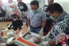 Perempuan di Jambi melahirkan bayi membatu