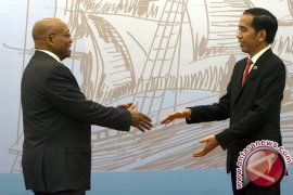 Presiden Terima Kunjungan Kenegaraan Presiden Afrika Selatan