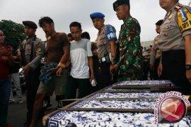 21 Orang Ditangkap Pascabentrokan Angkot--Ojek Online