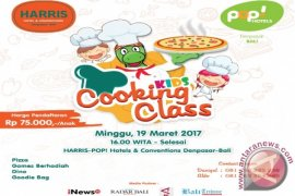 Let's Play and Fun with Kids Cooking Class at HARRIS-POP! Hotels & Conventions Denpasar