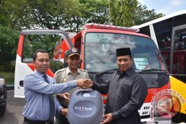 Bank Aceh bantu bus dan mobil damkar