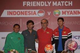 Laga Persahabatan Indonesia- Myanmar