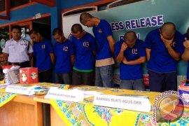 BNNP Bengkulu Amankan 10 Penyalah Guna Narkoba