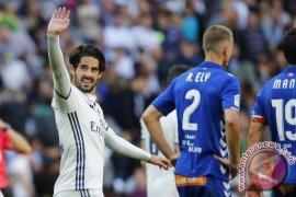 Isco pimpin Real raih kemenangan dari Malaga