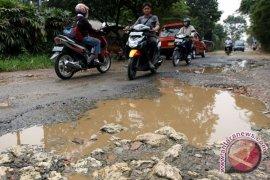 Ratusan kilometer jalan Kabupaten Karawang rusak