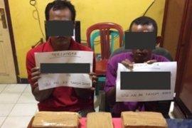 Polresta Jambi tangkap dua pengedar ganja