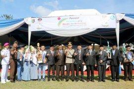 Peringatan Hardiknas Di Lampung Ditandai Penyerahan Penghargaan