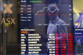 Pasar Australia ditutup turun terseret saham keuangan
