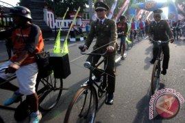 500 Pesepeda Lintasi Objek Bersejarah Kota Bekasi