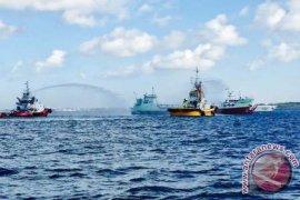 Pertamina Latihan Atasi Pencemaran Laut