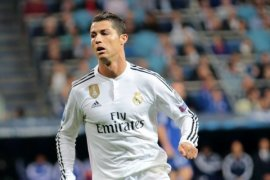 Ronaldo Borong Dua Gol saat Madrid Bungkam Dortmund 3-1