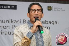 Sandiaga: Jakarta 2020 sebagai destinasi wisata halal