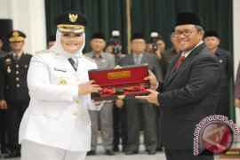 Gubernur Jabar Lantik Bupati-Wakil Bupati Bekasi