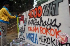 Dinkes Kampanyekan Bahaya Rokok Lewat Festival Mural