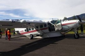 Pesawat milik MAF diduga jatuh dekat Danau Sentani