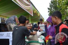 Pemkot Gorontalo Salurkan Sembako Atasi Rawan Pangan