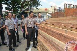 Polda Jambi amankan 115 M3 kayu ilegal