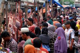 Harga Daging Sapi di Sukadana Rp140.000