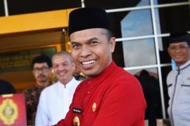 Bupati - Forkopimda melepas JCH Sambas dari embarkasi Batam