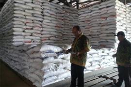Stok beras bulog Putussibau 767 ton