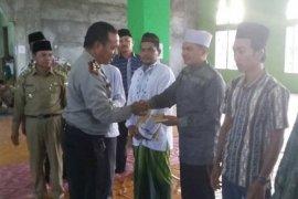 Polres dan Pemkab Keerom gelar Safari Ramadhan di Kampung Woslay