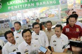 Tim Keamanan Pangan Lampung Memantau Pasar Dan Supermarket